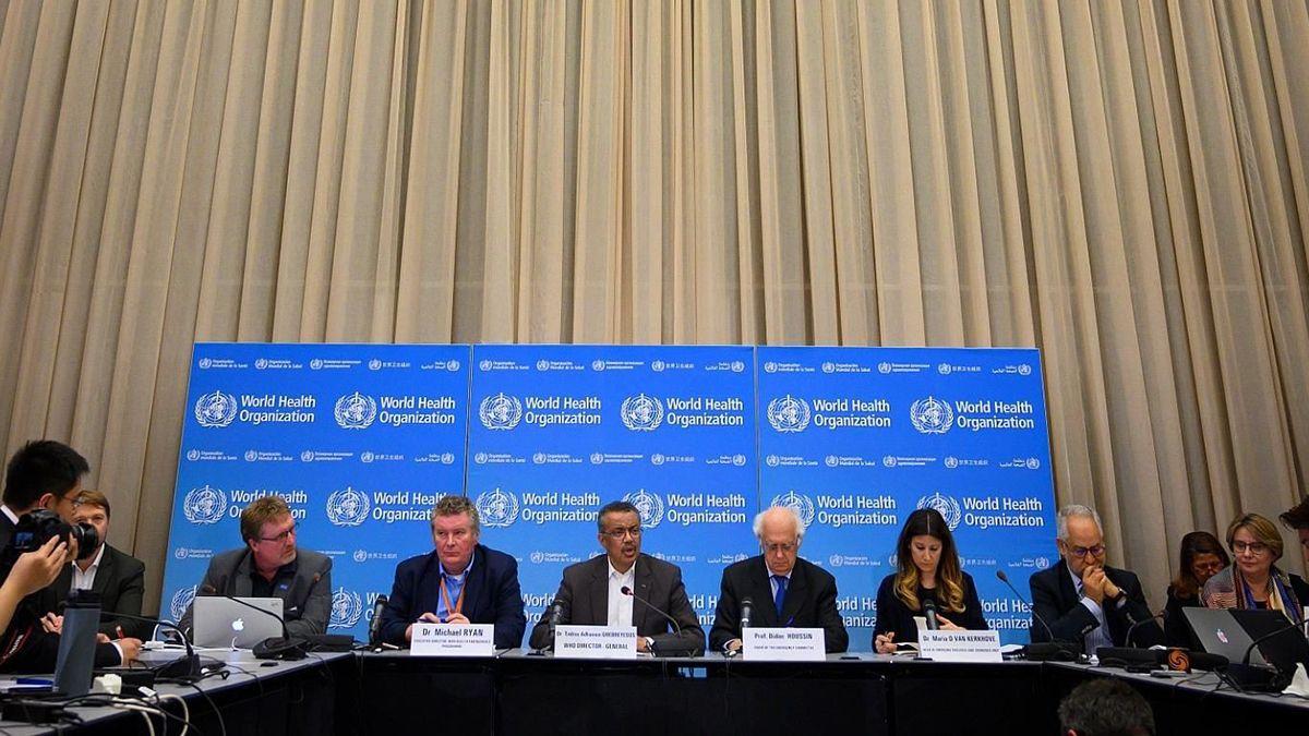 El Comité de la OMS informa diariamente en una conferencia de prensa cómo evoluciona el virus en el planeta.