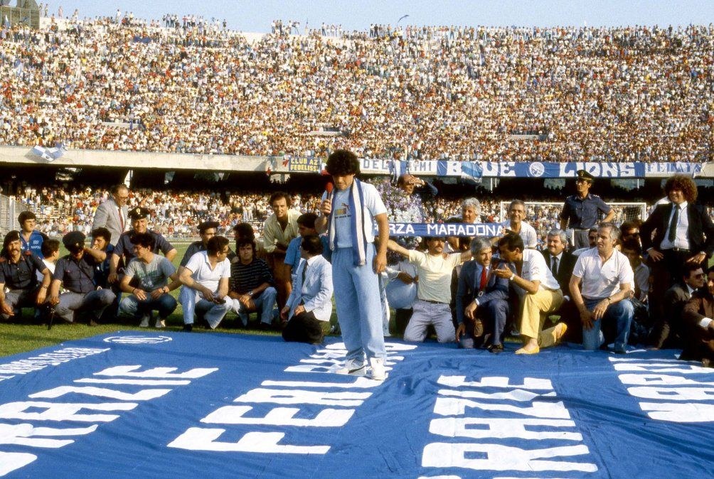Napolés rebautiza el San Paolo como estadio Diego Armando Maradona — Oficial