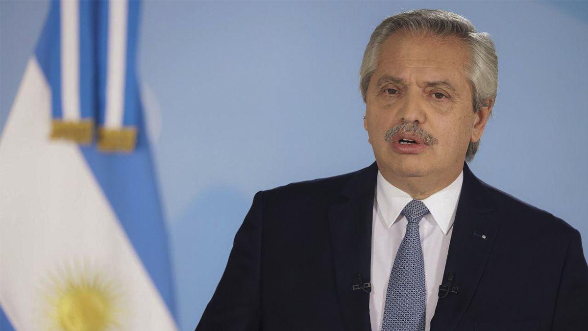 Fernández cuestionó que el Congreso no haya avanzado con la ley de Emergencia covid
