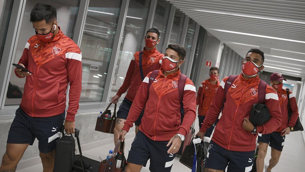 Los jugadores de Independiente que retornarán de Brasil serán testeados al ingresar a Argentina.