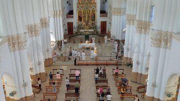 Con aforo del 30%, autorizan las actividades religiosas en iglesias y templos