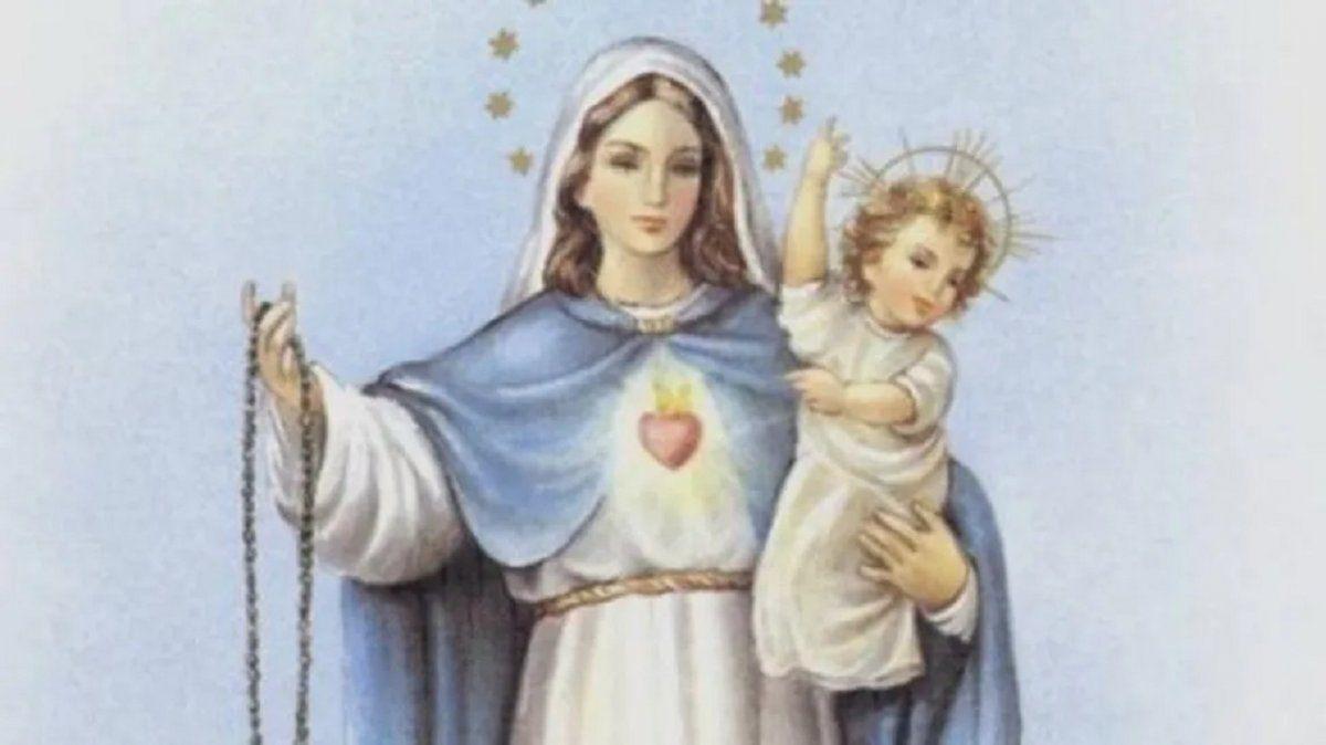 Por qué se celebra hoy el Día de la Virgen del Rosario