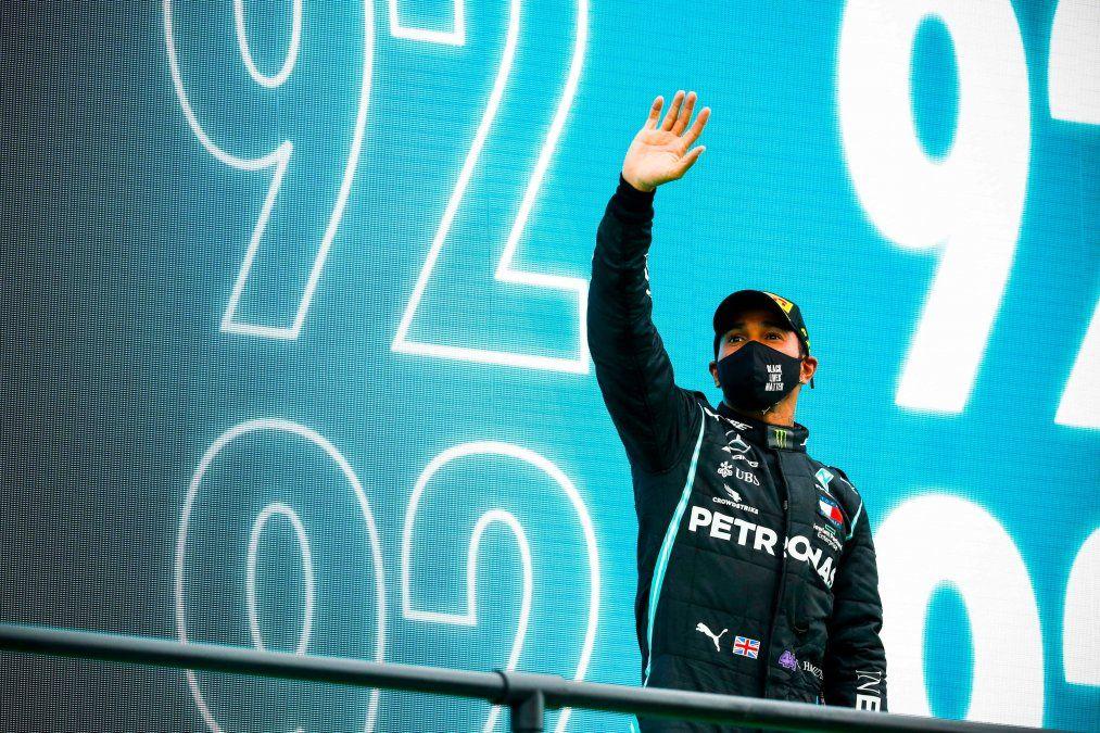 Lewis Hamilton ganó el GP de Emilia Romagna y alcanzó las 93 victorias enla Fórmula 1.