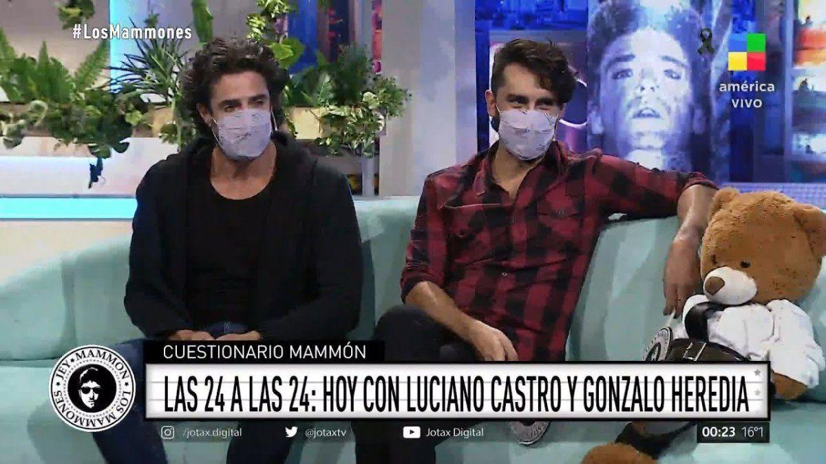 A Luciano Castro le llovieron críticas por su desgano al aire de Los Mammones