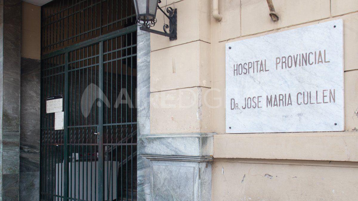 El joven asesinado fue trasladado de forma particular al hospital José María Cullen de Santa Fe.