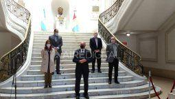 En el acto de presentación estarán el gobernador Omar Perotti, la ministra de Seguridad Sabina Frederic y el ministro de Seguridad de Santa Fe, Marcelo Sain.