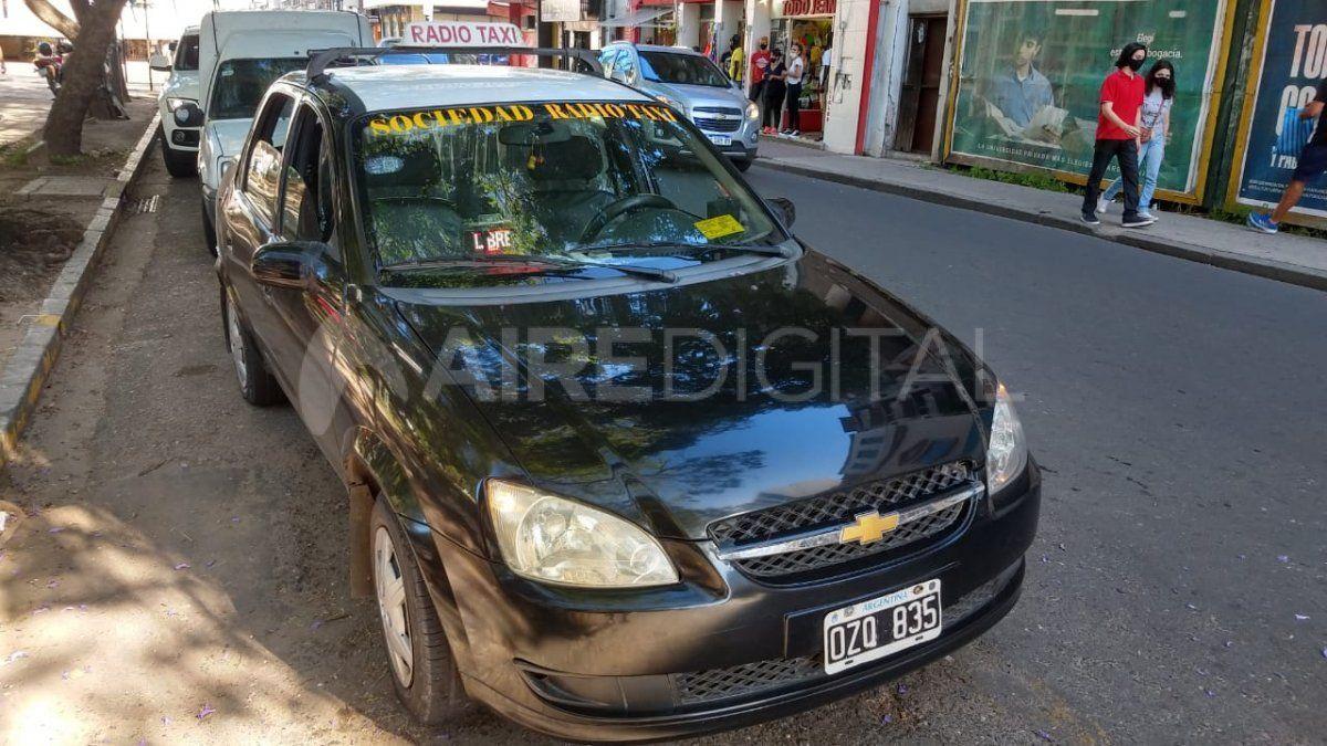 Los taxistas solicitarán al gobierno de la provincia ser vacunados contra el covid-19