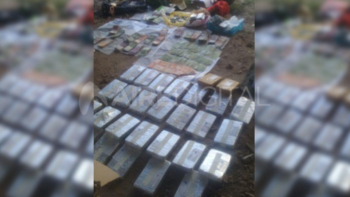 La mayor parte de la cocaína fue secuestrada de un vehículo aparcado en una cochera