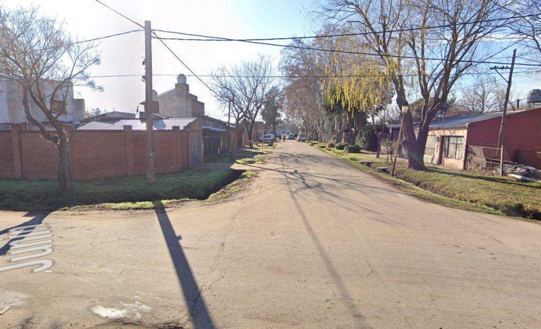 El accidente de tránsito ocurrió en la intersección de las callesJunín yBrown de Granadero Baigorria.
