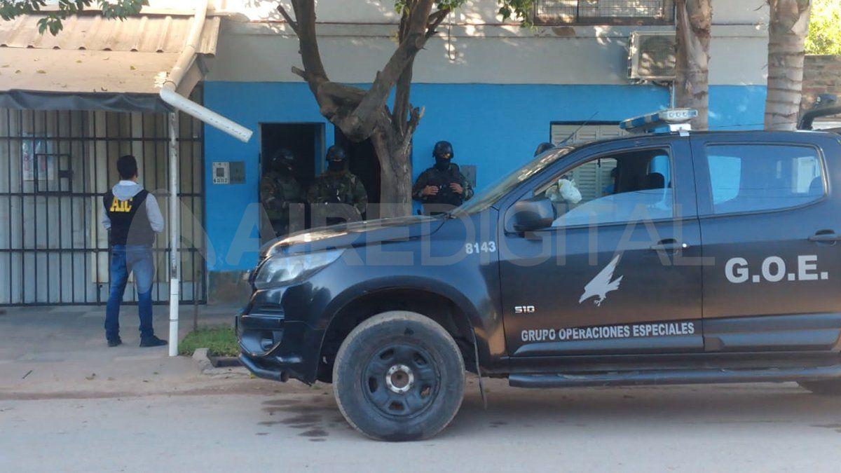 Los allanamientos fueron encabezados por la Agencia de Investigación Criminal y fuerzas de asalto.