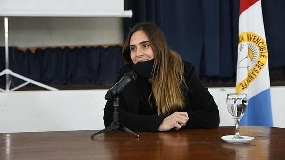Florencia Molinero es la nueva secretaria de Deportes de la provincia de Santa Fe.