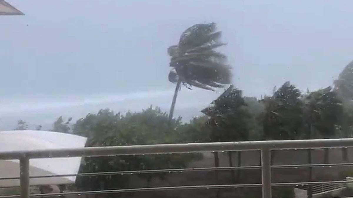 La tormenta tropical Elsa golpea el Caribe y la costa de Florida. La Nasa publicó unas imágenes impresionantes desde el espacio.