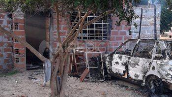 Los familiares de Farías atacaron a la familia de quien ellos sindican como el presunto asesino, quemaron una casa e incendiaron un auto