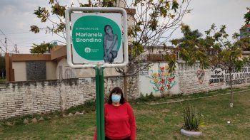 Renovaron el rincón de Marianela Brondino y hoy luce la imagen de la joven