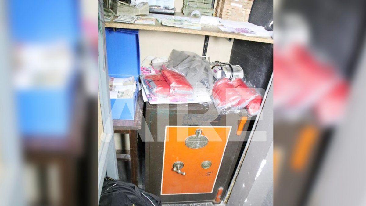 Los familiares de Oldani se opusieron a que la policía abriera esta caja fuerte. Y la fiscal Ferraro avaló este pedido.