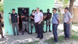 Ricardo Colombi, el entonces gobernador de Corrientes, viajó hasta Goya para interrumpir los allanamientos que hizo la Policía de Santa Fe el 20 de diciembre del 2016.