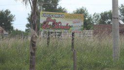 """A los acusados se les atribuyó haber dado apariencia legal a la estructura jurídica del fideicomiso creado bajo el nombre de """"Barrio Las Mercedes"""" que administró un total de 614 hectáreas en la zona sur de Recreo."""