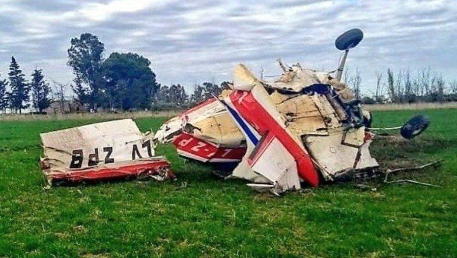 Murió otro piloto de automovilismo al estrellarse con su avioneta