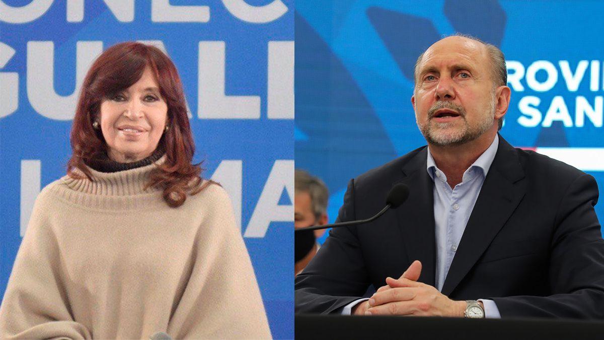 El encuentro entre el gobernador Perotti y la vicepresidenta