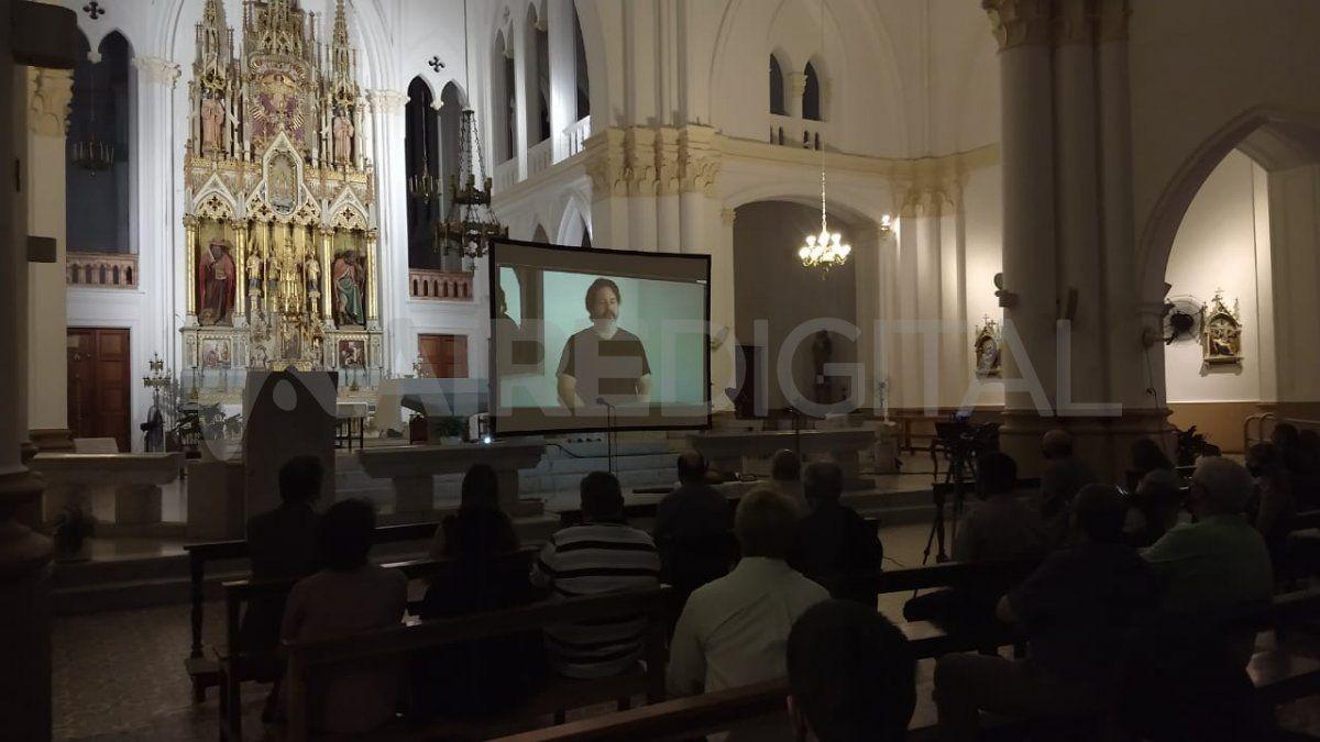 En la Basílica de Guadalupe se presentó un fragmento de la cinta