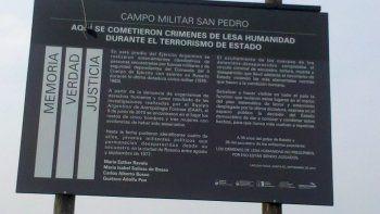 Intentarán determinar si hubo entierros clandestinos en el Campo Militar San Pedro