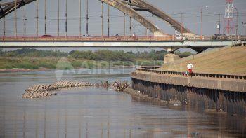 La Provincia vigila el bajo nivel de los caudales del Río salado