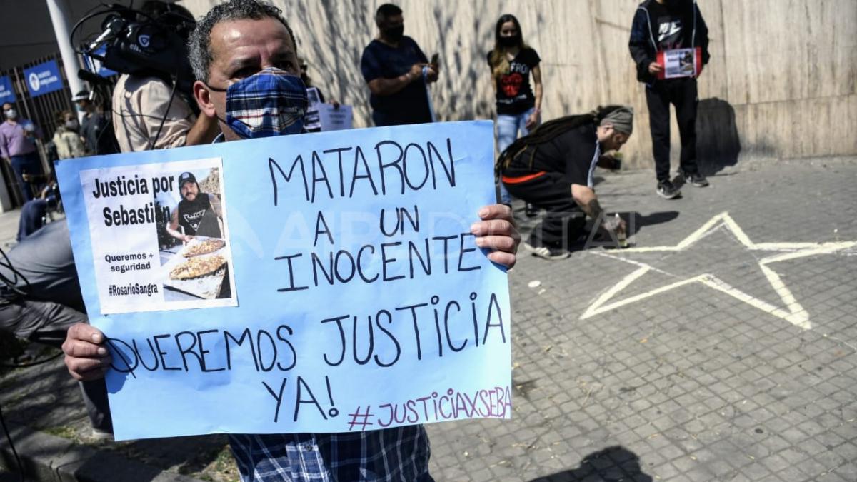 Sebastián Cejas fue asesinado de un disparo en el pecho en Rosario