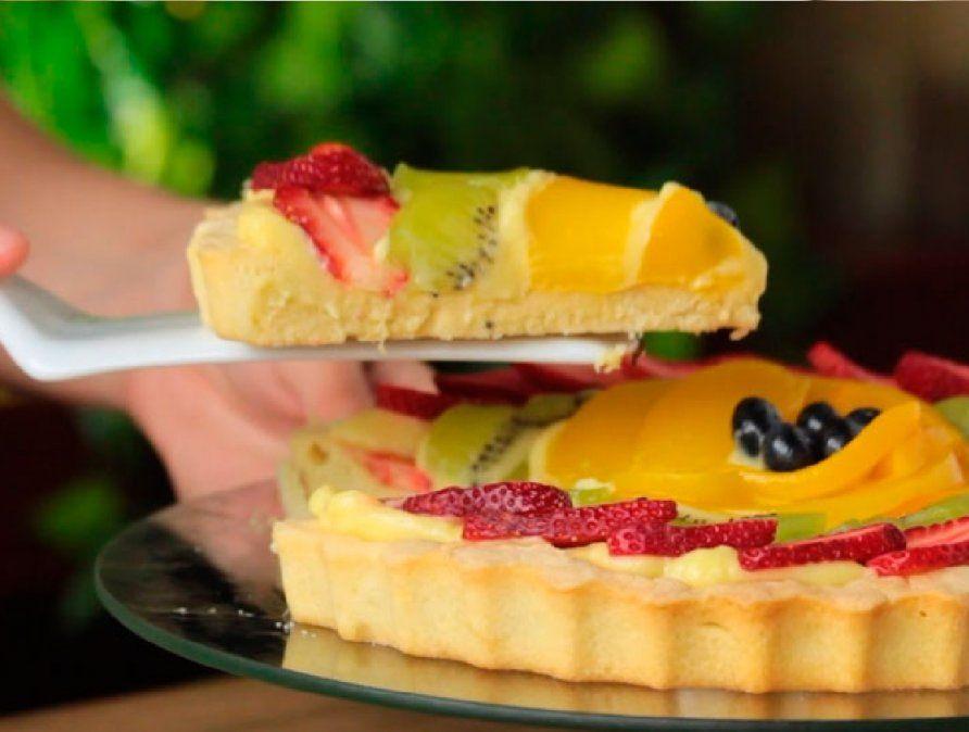 Receta saludable y exquisita con crema pastelera