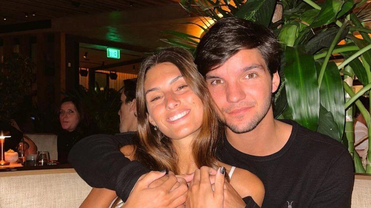 Lola Latorre está en pareja desde hace 4 años con el joven rugbier: Siempre hablamos de casarnos jóvenes