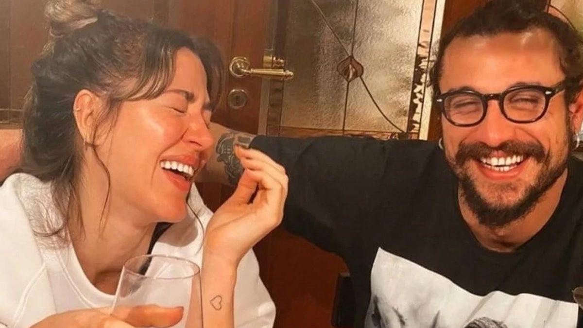 Jimena Barón y Daniel Osvaldo en cuarentena