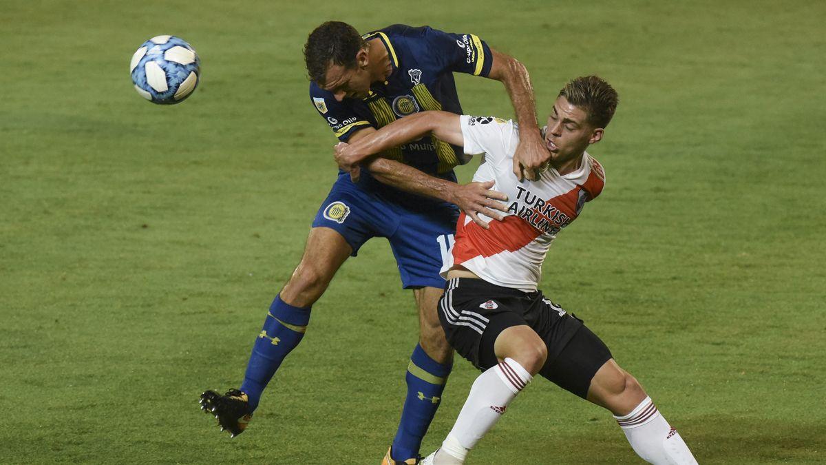River le ganó a Central en Rosario y clasificó para la fase Campeonato de la Copa Maradona