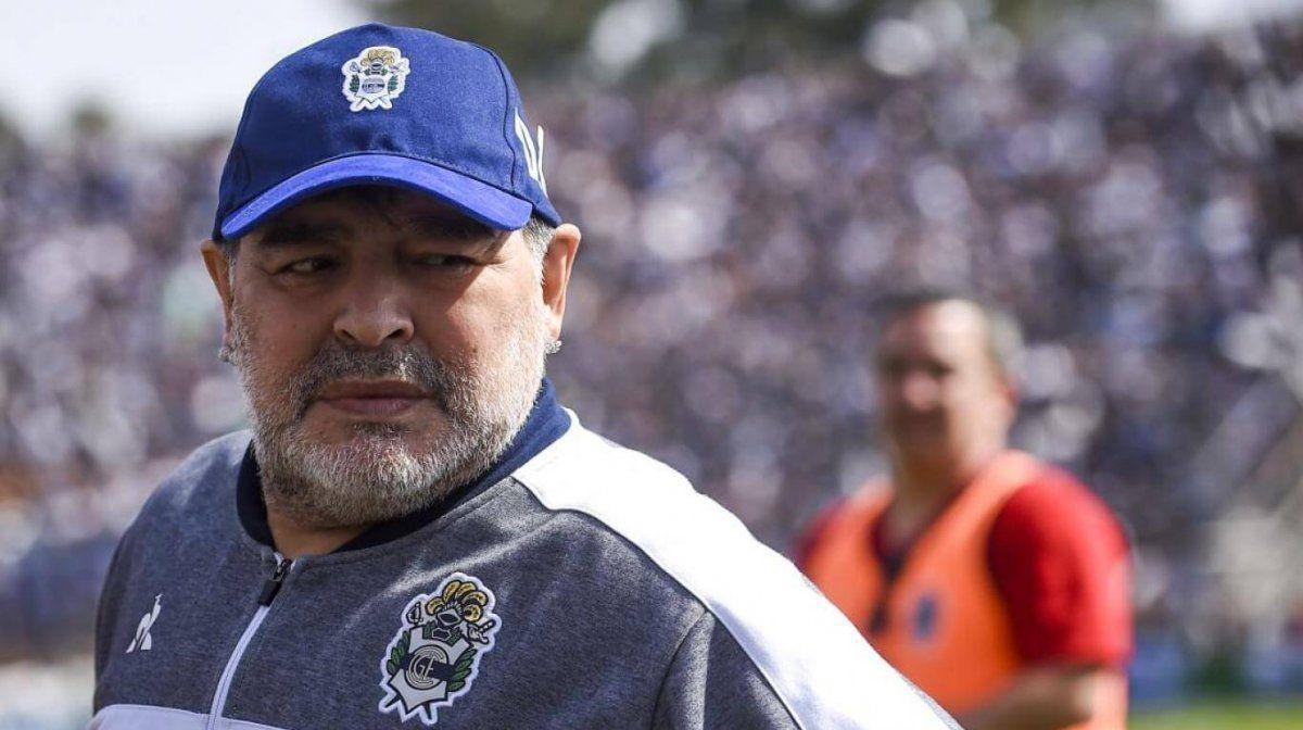 Diego Maradona le respondió este martes al expresidente del país Mauricio Macri