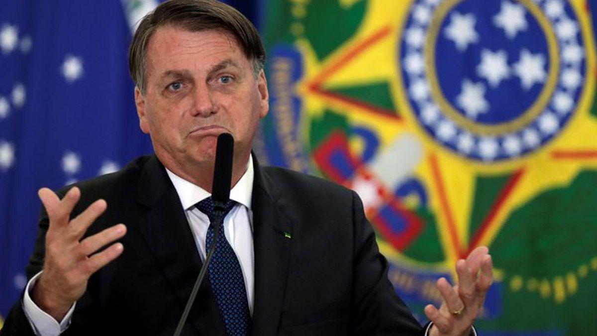 Jair Bolsonaro dijo que no se colocó ninguna de las dos dosis contra el coronavirus.