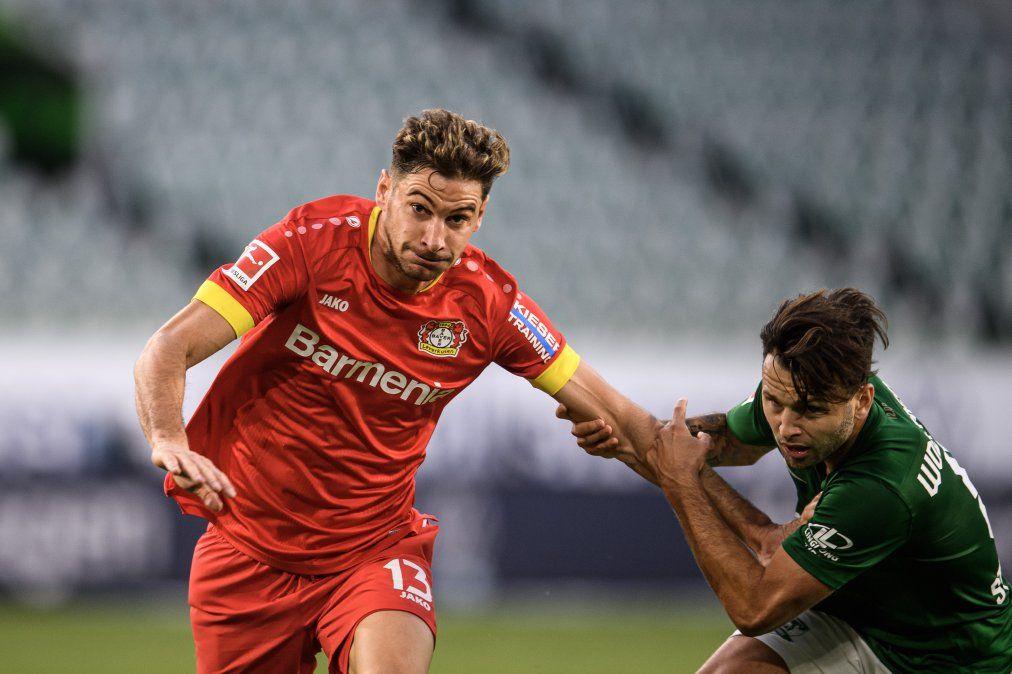 Lucas Alario atraviesa su mejor momento en el Bayer Leverkusen gracias a los goles anotados en la Bundesliga