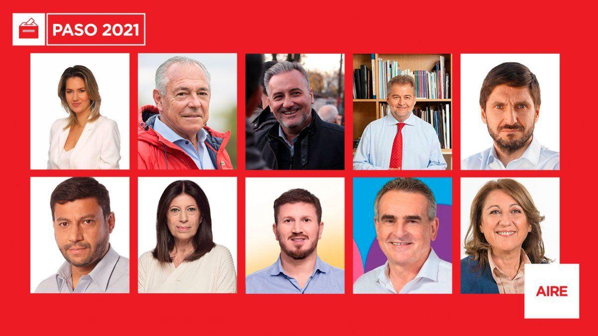 La ampliación de Juntos por el Cambio fue una de las claves de las elecciones primarias. Sus cuatro listas superaron por 10 puntos a las dos liistas del PJ.