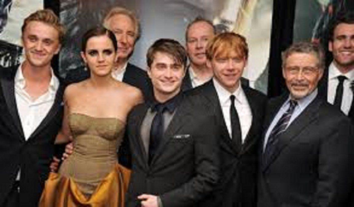 Reencuentro del cast de Harry Potter a 19 años de su estreno.