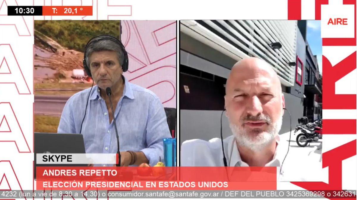 El análisis de Andrés Repetto en Ahora Vengo este viernes. Estados Unidos enfrenta una crisis democrática