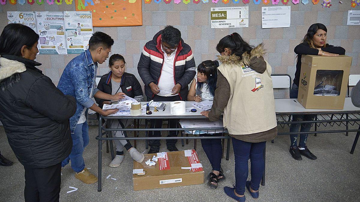 El domingo 18 de octubre son las elecciones en Bolivia.