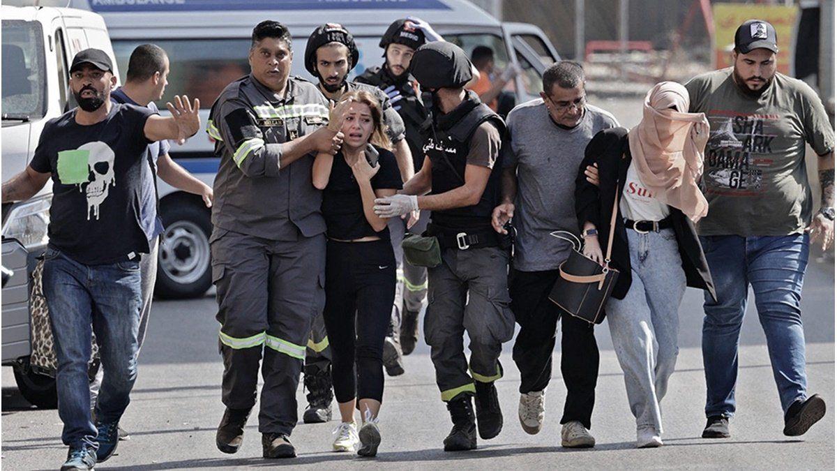 Muertos y heridos en una protesta por la investigación de la explosión en Beirut
