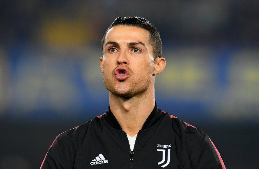 Cristiano Ronaldo anotó, se acercó a un récord de Batistuta pero Juventus perdió