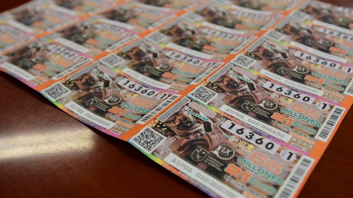 Ganó $1 millón en la lotería y se solidarizó con su familia