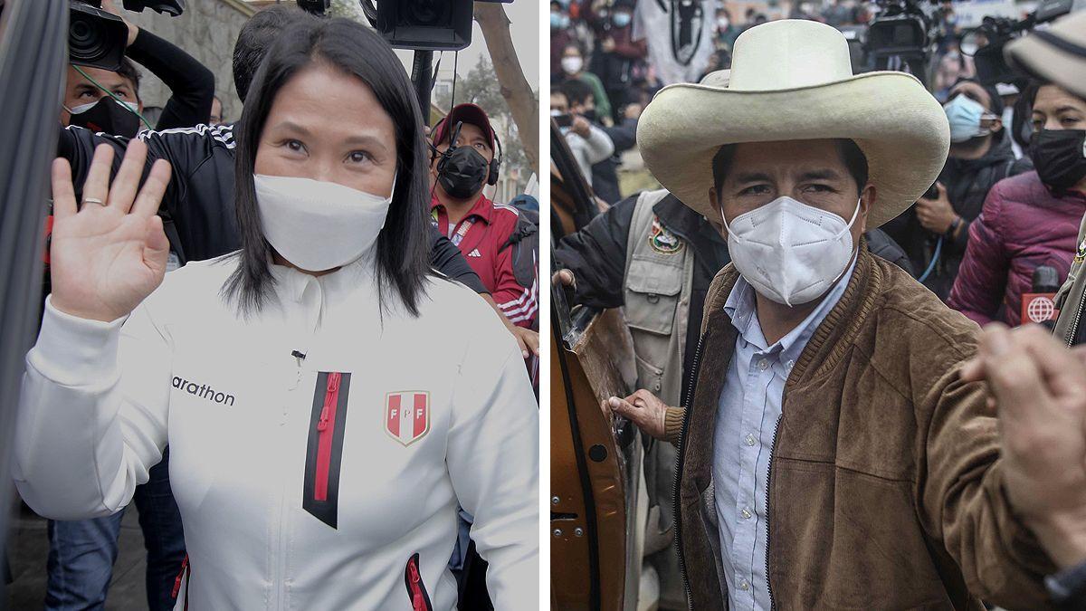 Aun no se anunció al candidato ganador en las elecciones presidenciales de Perú.