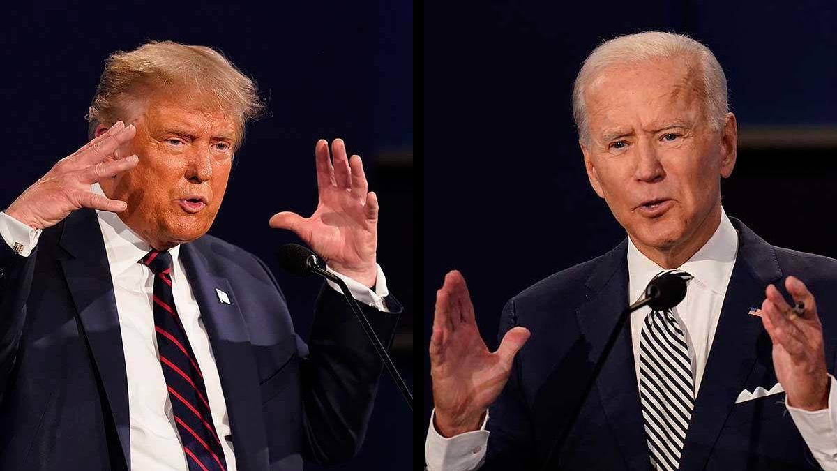 Trump y Biden se enfrentan en un duelo televisivo por audiencias