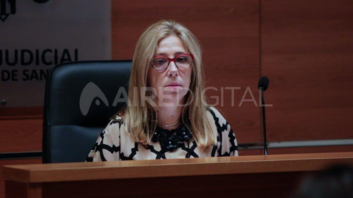 La jueza Valenti estuvo a cargo de la resolución.
