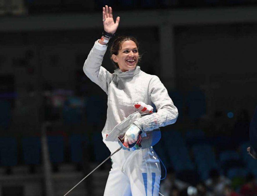 La esgrimista ganó el preolímpico y jugará sus terceros Juegos Olímpicos.