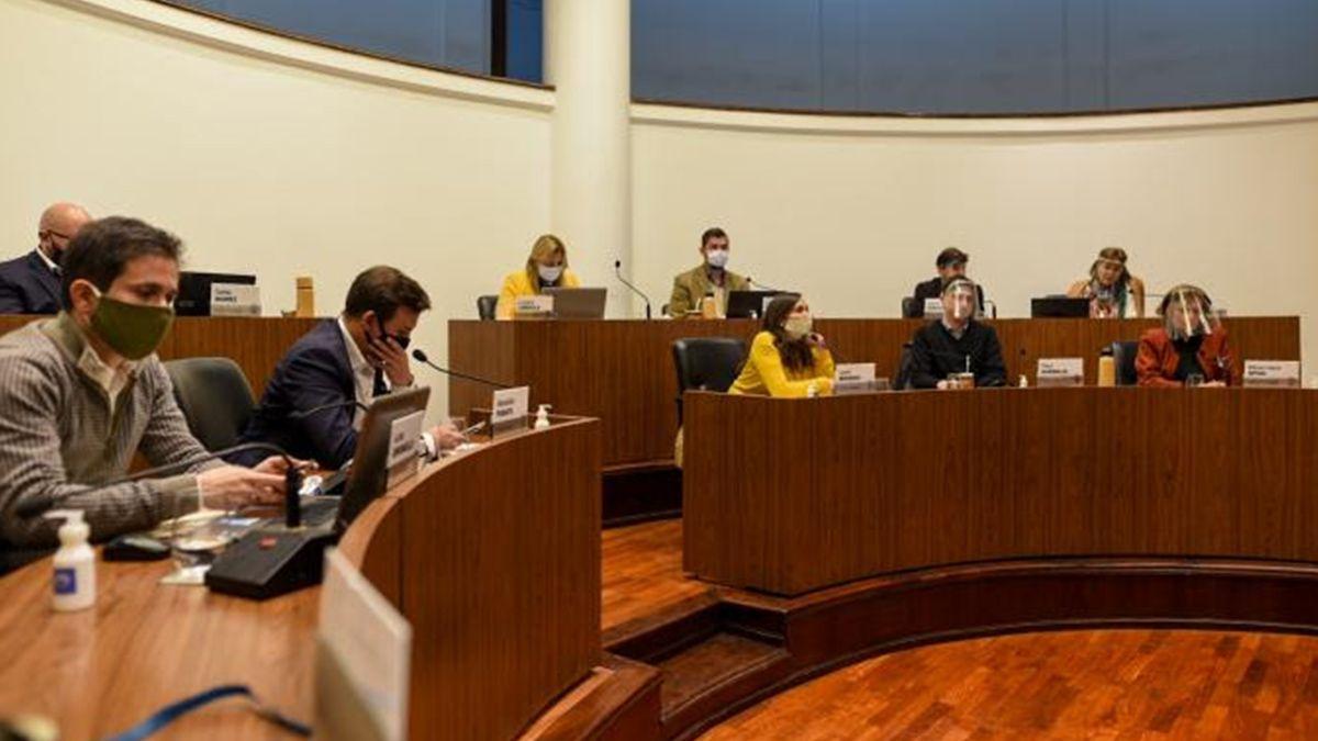 En la última sesión del Concejo Municipal