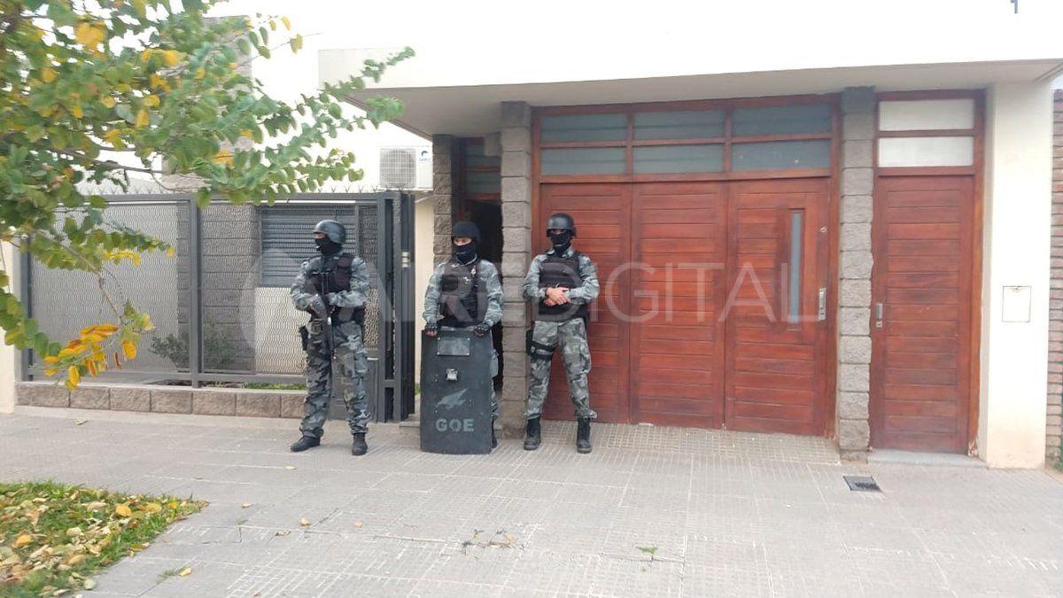 Bolivia al 3600. Uno de los domicilios inspeccionados por personal policial.