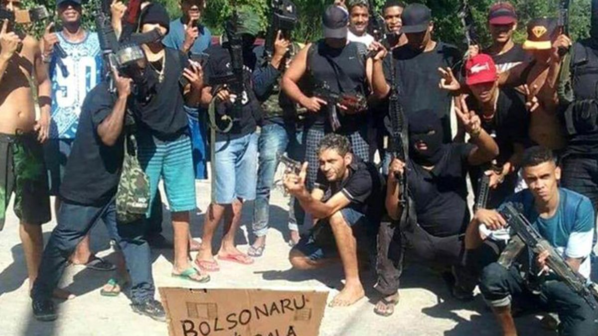 Los soldados del PCC desafían hasta el presidente de Brasil