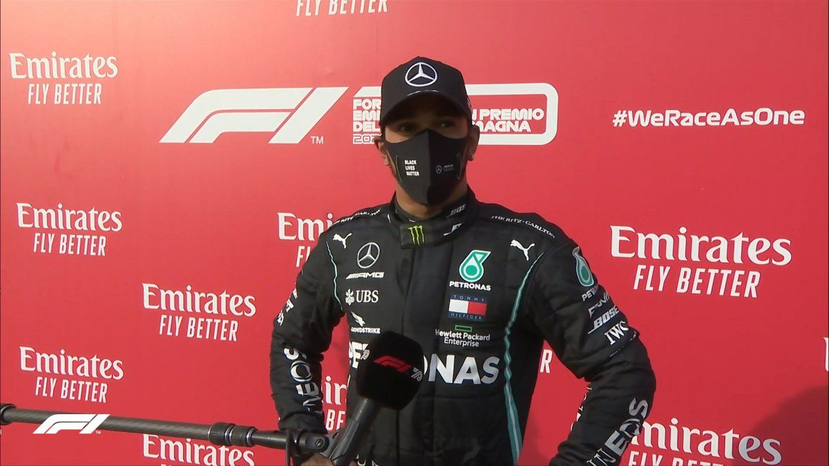 Lewis Hamilton ganó el GP de la Emilia Romagna y llegó a las 93 victorias en la Fórmula 1.