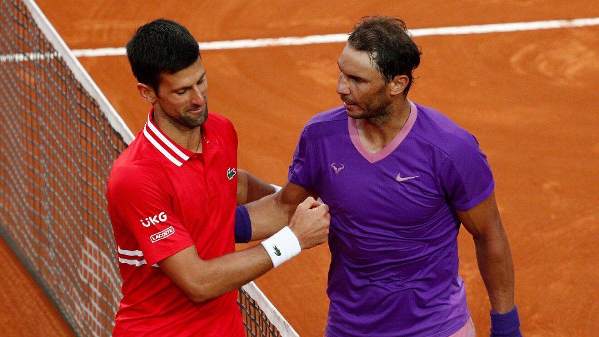 Rafael Nadal y Novak Djokovic protagonizarán el duelo estelar en las semifinales de Roland Garros.